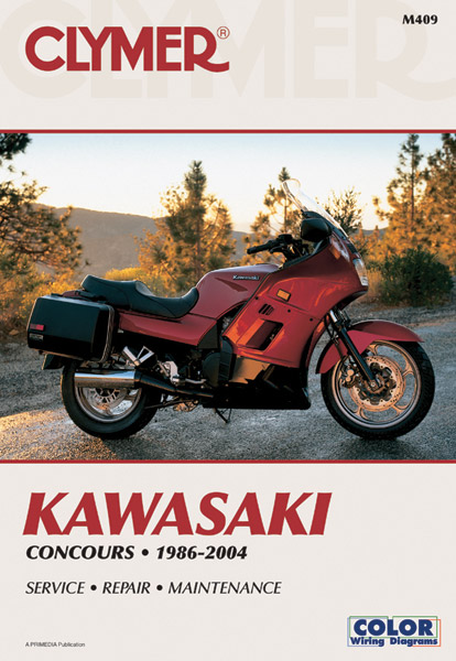 Clymer Kawasaki Concours Motorcycle Repair Manual