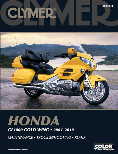 Clymer Honda 01-10 GL1800 Manual