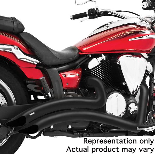 Freedom Performance Exhaust Black Sharp Curve Radius System - MS00006