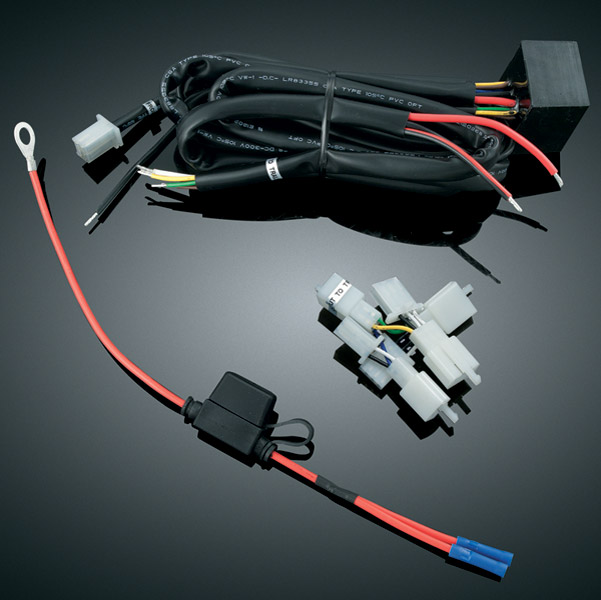 Kuryakyn Trailer Wiring Harness for GL1800 Gold Wing | ZZ29918 | J&P ...