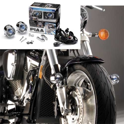 PIAA Powersports Lamp Kit with Multi-Fit Bracket