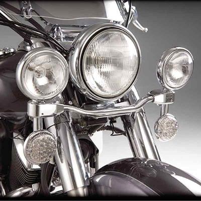 Show Chrome Accessories Elliptical Driving Kit for VT 600