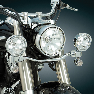 Show Chrome Accessories Elliptical Driving Light Kit