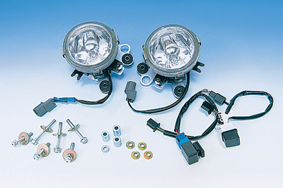 Show Chrome Accessories Lower Fog Light Kit
