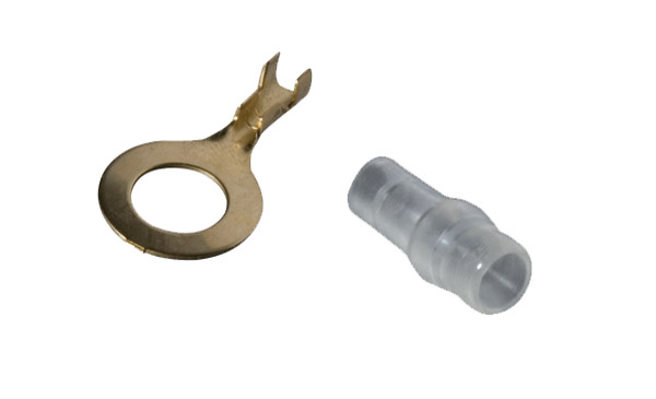 K&L Supply Co. Terminal and Coupler Set 10mm Ring Terminal