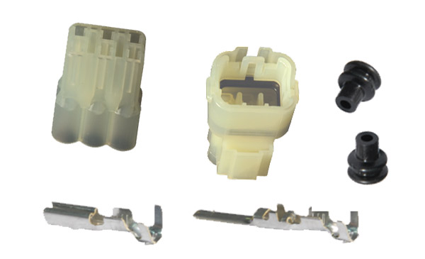 K&L Supply Co. Terminal and Coupler Set 6 Pin Waterproof Coupler