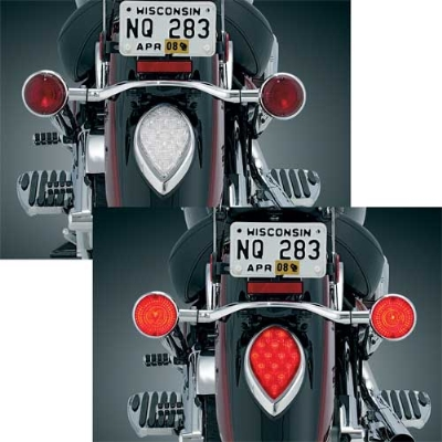 Kuryakyn Triple Whammy Run-Turn-Brake Light Kit