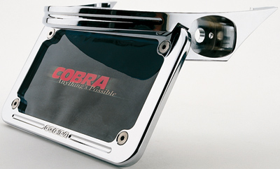 Cobra Billet Turn Signal/License Plate Relocator