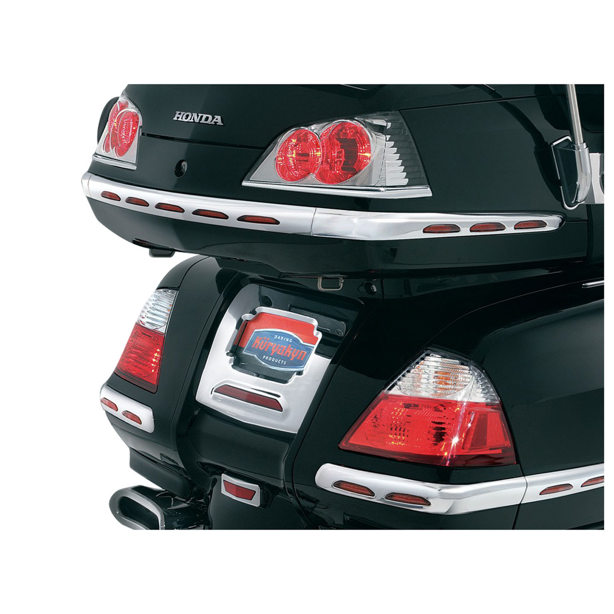 Kuryakyn Trunk Taillight Accents for GL1800 Gold Wing