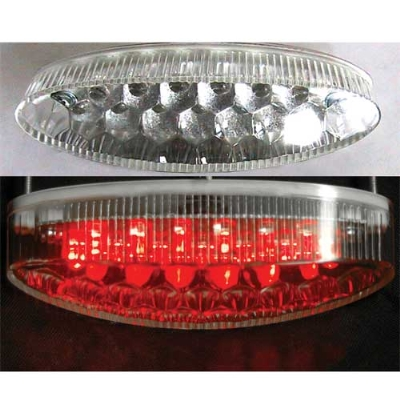 Motorcyclemods LED Small Cateye Taillight