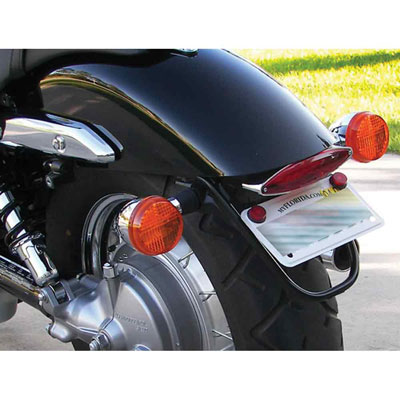 LED Wide Cateye Taillight for 07-09 Honda Shadow Spirit VT750C2