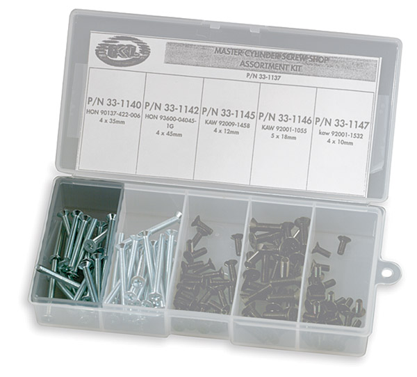 K&L Supply Co. Master Cylinder Cover Screw Replacement Kit