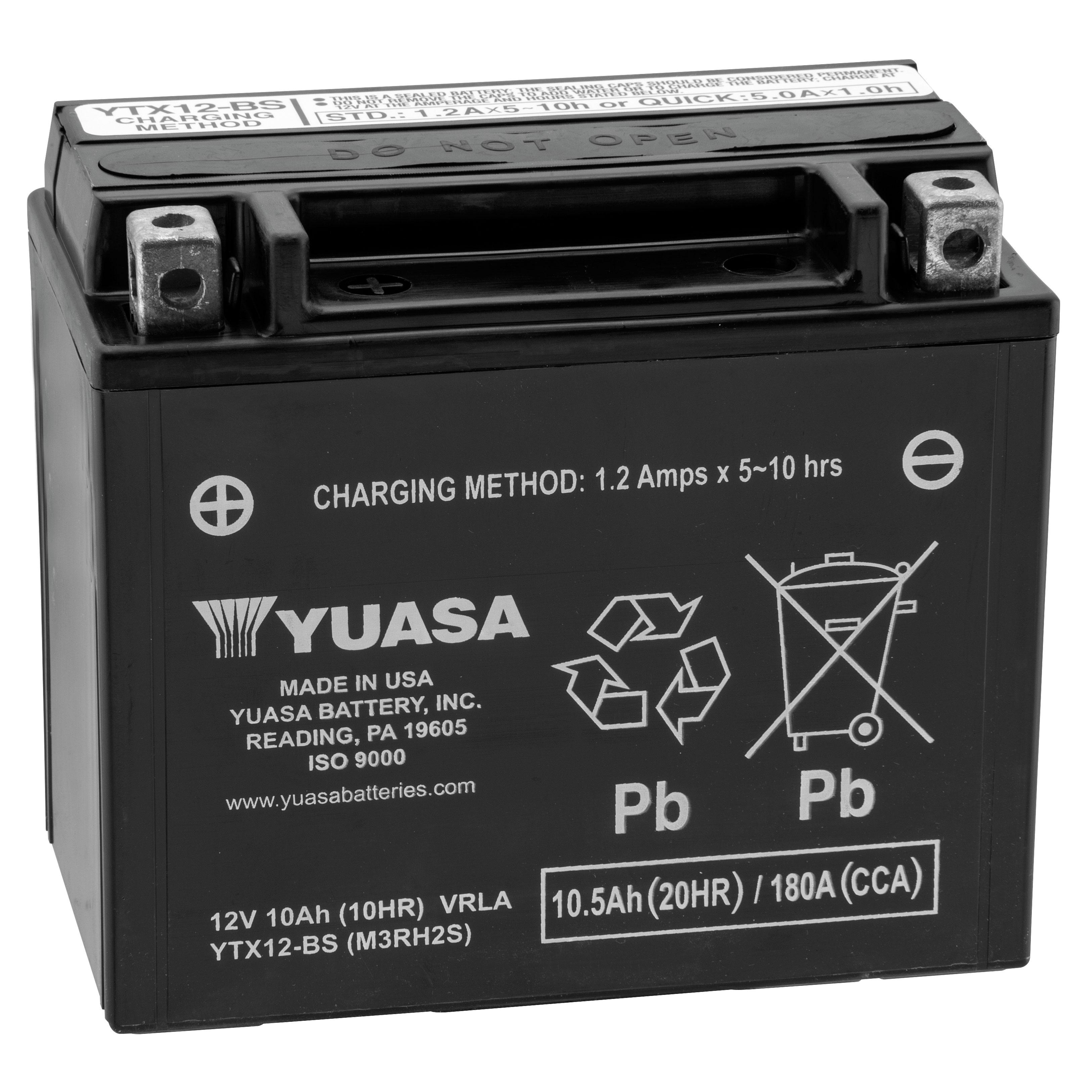 Yuasa Maintenance Free Battery