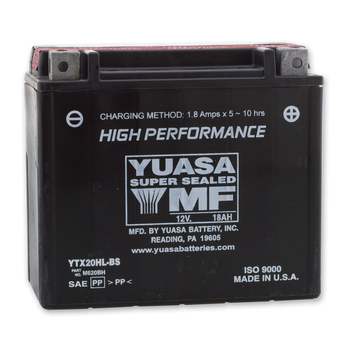 Yuasa High-Performance Maintenance Free Battery