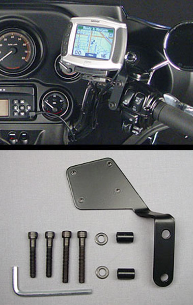 J&M Mounting Bracket Kit for Garmin Zumo