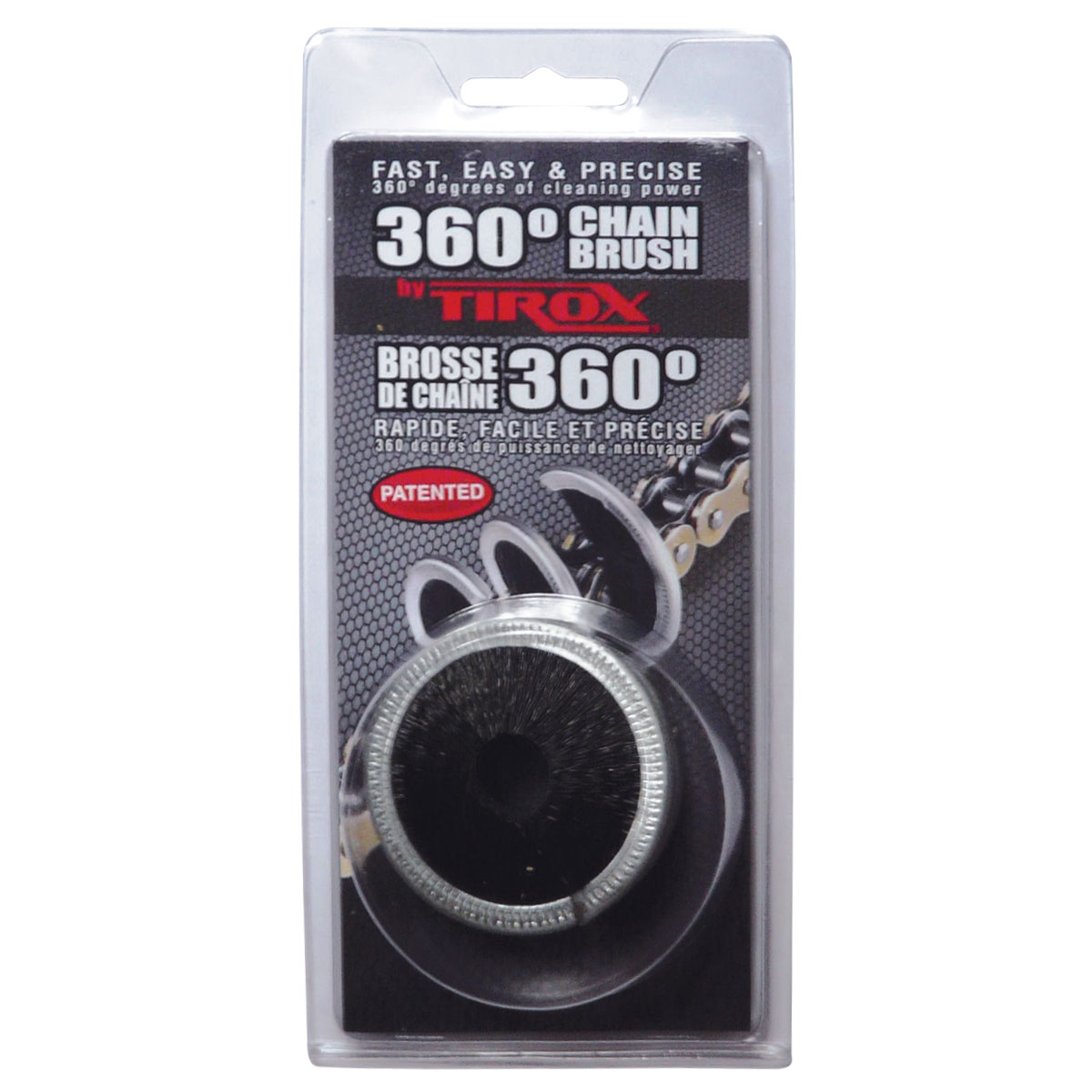 Tirox 360° Chain Brush