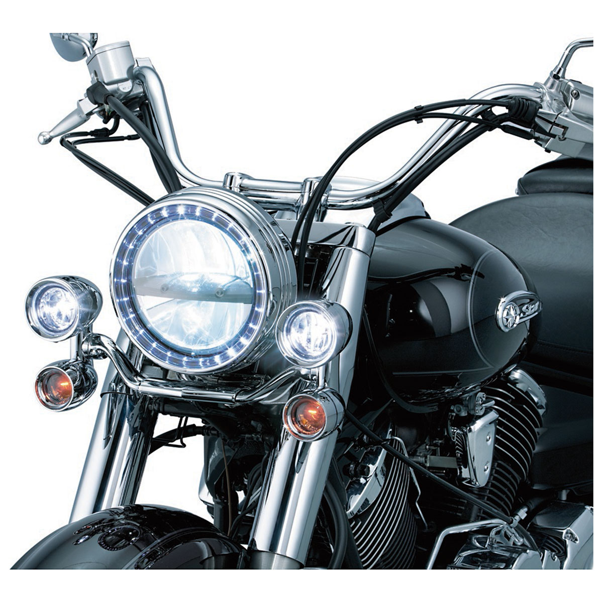 Kuryakyn Phase 7 LED Headlight