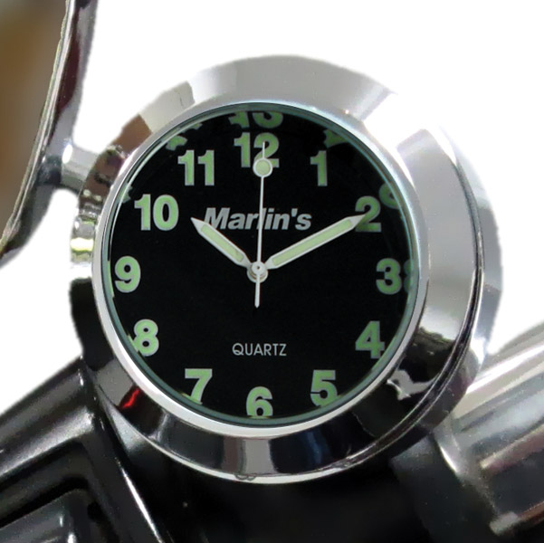 Marlin's CHAMP Series Black Clock