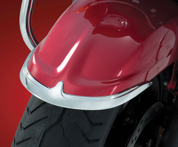 Show Chrome Accessories Contour Front Fender Tip Accent