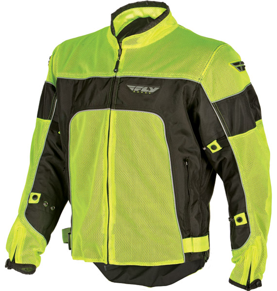 FLY CoolPro II Flo Yellow Mesh Jacket