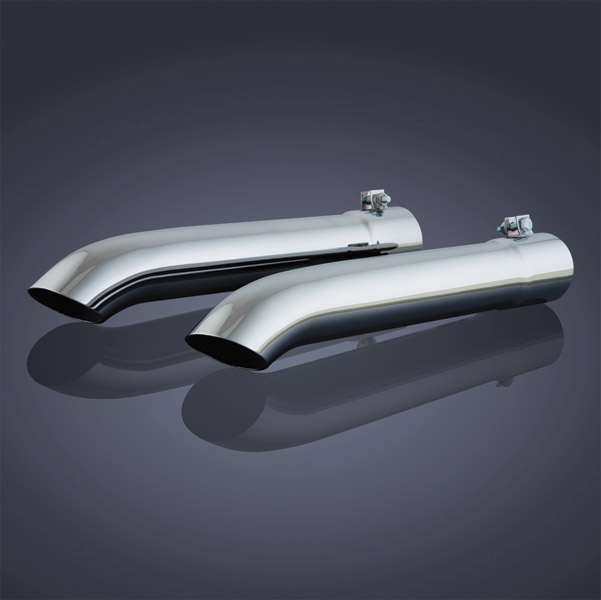 Show Chrome Accessories Straight Exhaust Extension for GL1500 Gold Wing