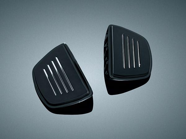 Kuryakyn Gloss Black Premium Mini Floorboards without Adapters