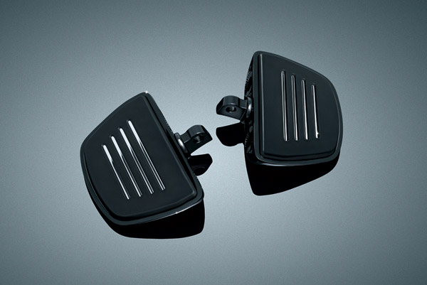 Kuryakyn Gloss Black Premium Mini Floorboard