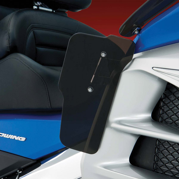 Big Bike Parts Smoke Wind Deflector-Lower for Gold Wing