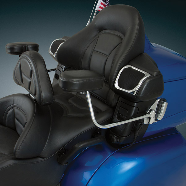 Big Bike Parts Deluxe Passenger Armrests for Gold Wing