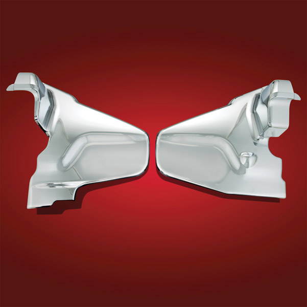 Show Chrome Accessories Chrome Engine Side Covers for GL1800 Gold Wing