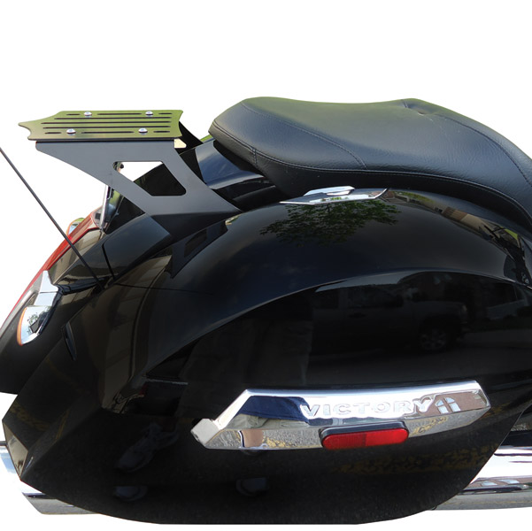 BDD Custom Black Slot Luggage Rack for Victory