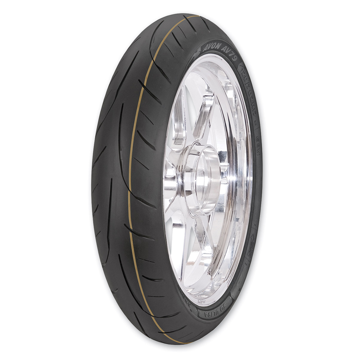 Avon AV79 3D Ultra SuperSport 120/60ZR17 Front Tire