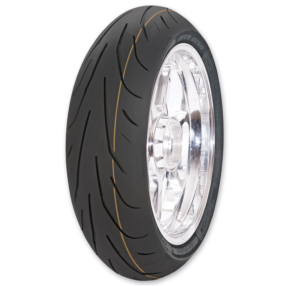 Avon AV80 3D Ultra SuperSport 190/50ZR17 Rear Tire