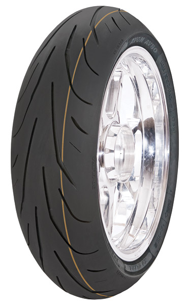 Avon AV80 3D Ultra SuperSport 190/55ZR17 Rear Tire