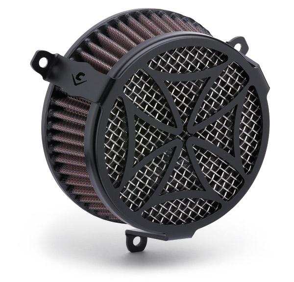 Cobra Air Cleaner : Cobra powrflo air cleaner kit black cross zz j p