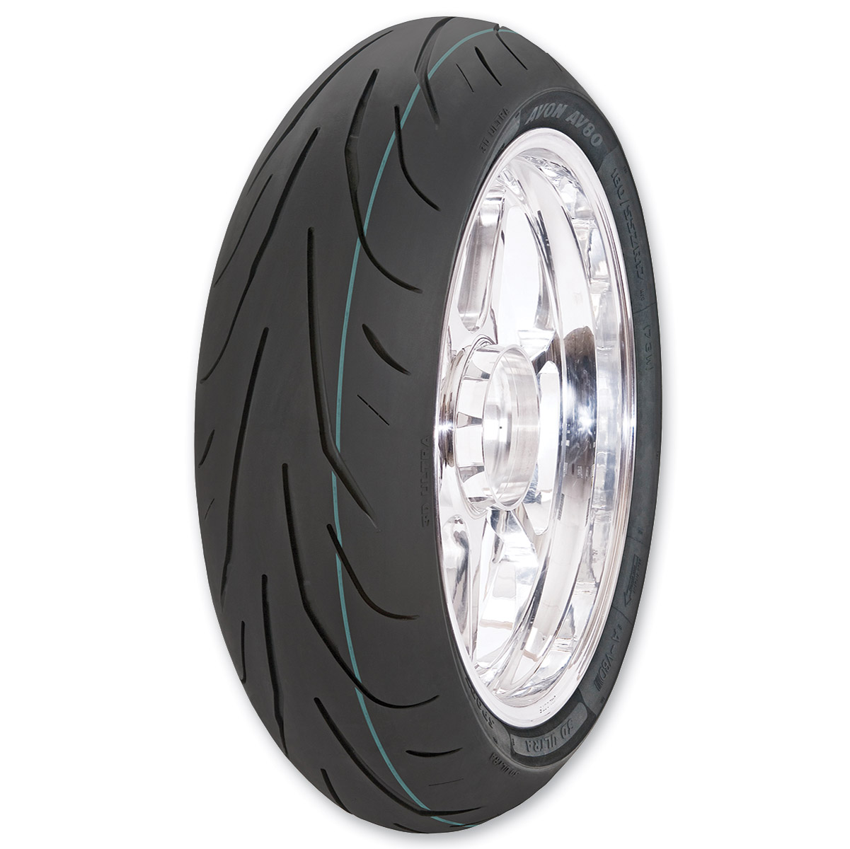 Avon AV80 3D Ultra Sport 190/55ZR17 Rear Tire