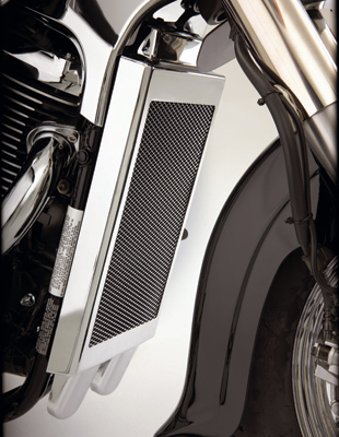 Show Chrome Accessories Mesh Radiator Grille for VL800/C50/M50