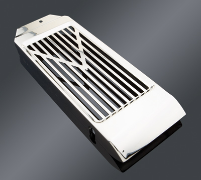 Show Chrome Accessories V-Style Radiator Grille for Honda VT750 Aero