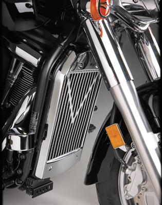 Show Chrome Accessories V-Style Radiator Grille for Kawasaki VN2000
