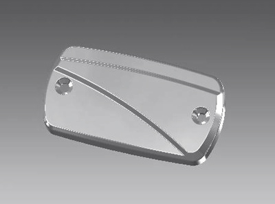 Willie & Max Showstopper Series Master Cylinder Cover
