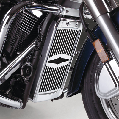 Show Chrome Accessories Celestar Radiator Grille for Yamaha V-Star 1300