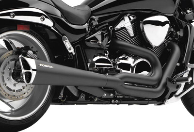 Cobra Tri-Pro 2-into-1 Black Exhaust System