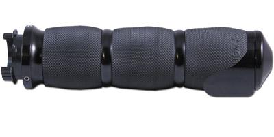 Avon Grips Black Air Cushion Grips with Throttle Assist