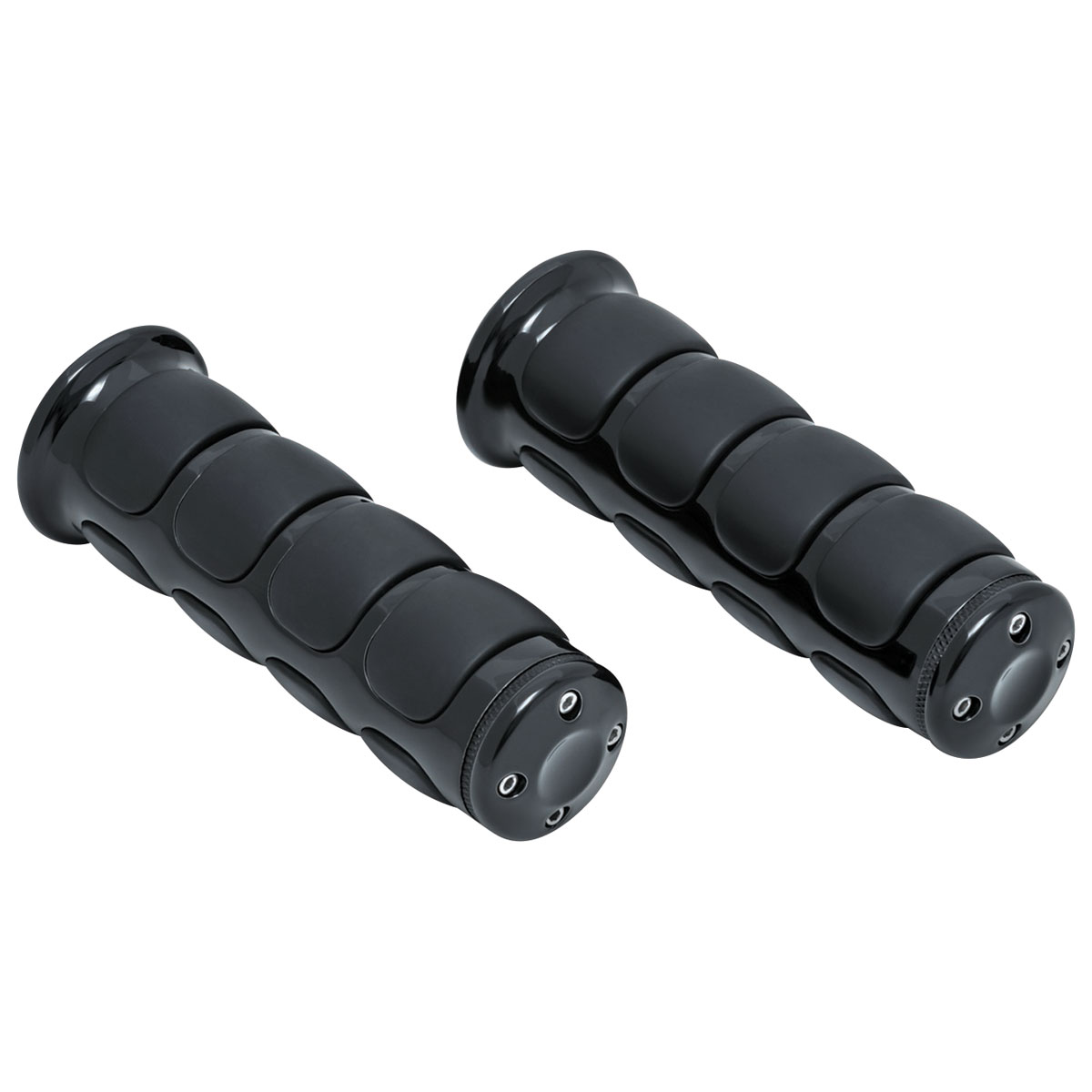 Kuryakyn Black ISO Grips for 1″ Bars