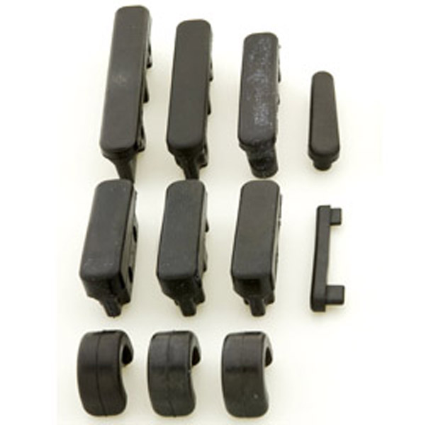 Kuryakyn Replacement Rubber pads for one Transformer Board