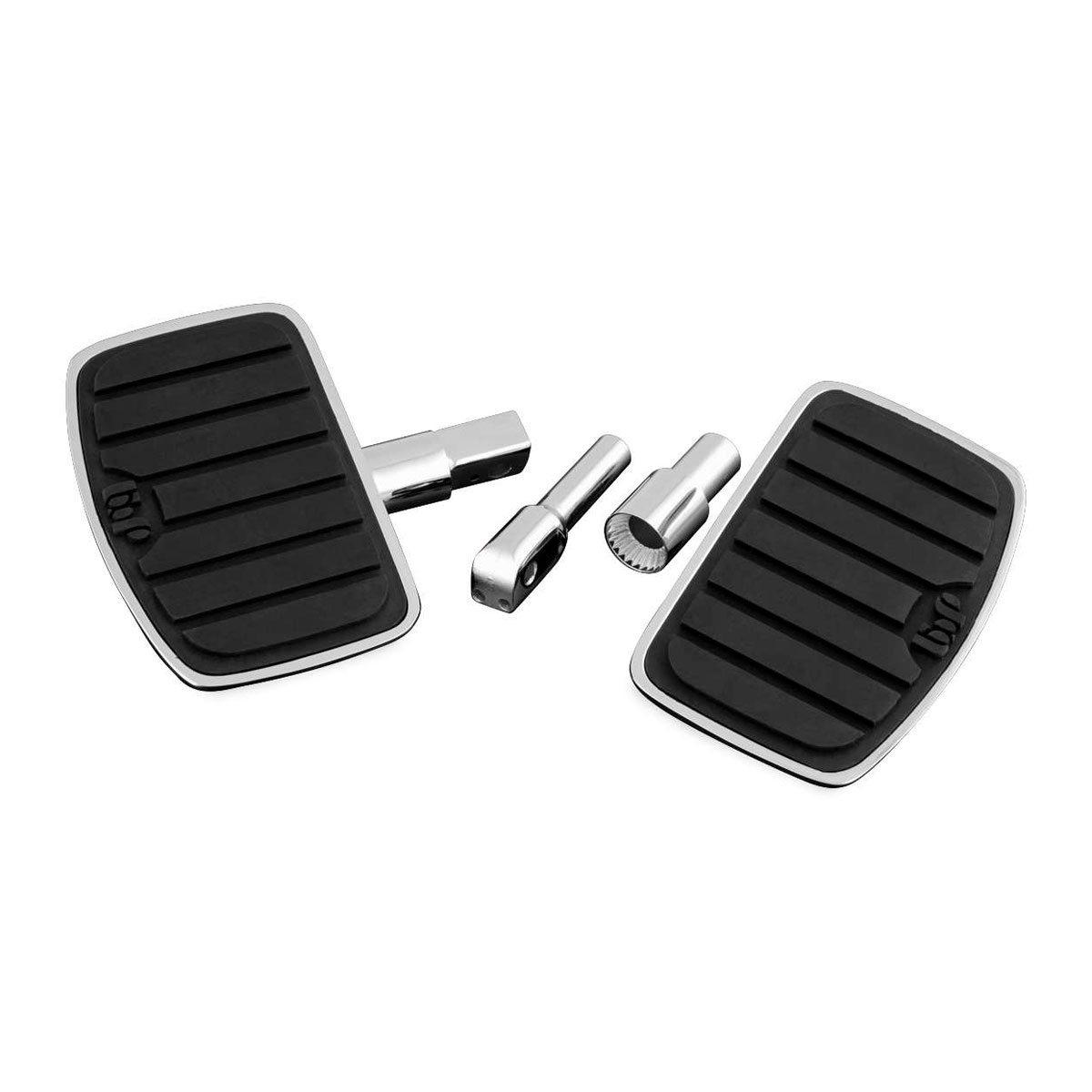 Show Chrome Accessories Cruis Board Passenger Floorboards