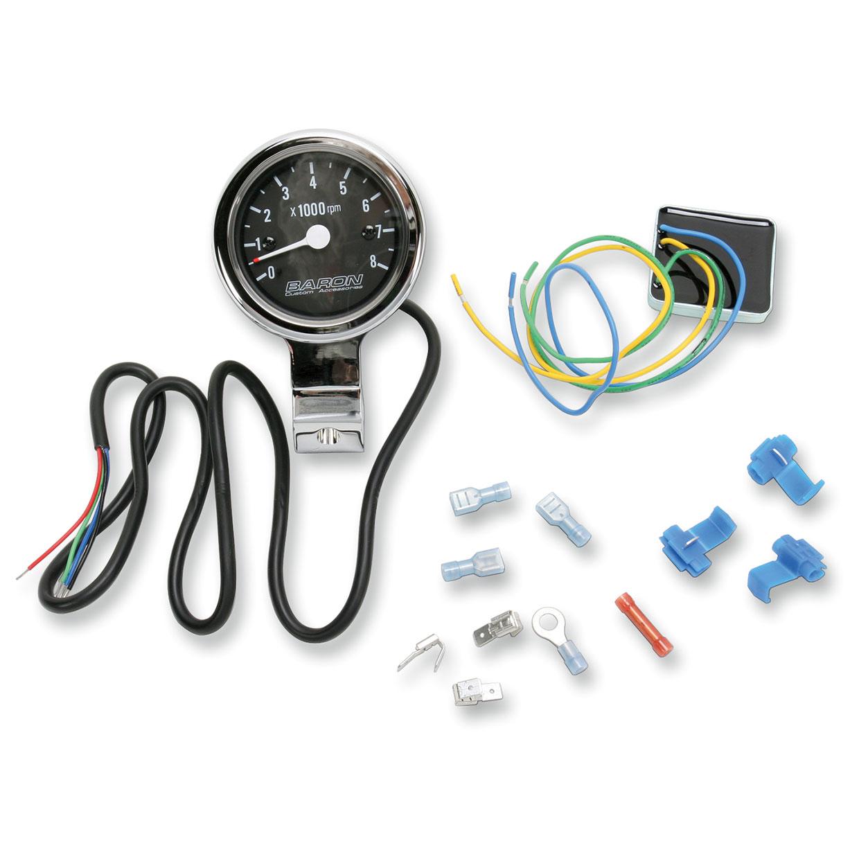 Baron Custom Accessories Bullet Tachometer