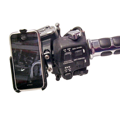 Leader eCaddy Deluxe iPod Touch Mounting Kit For Honda Gold Wing Controls