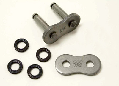 Rivet link for 520SRX EK Sport Quadra X-ring Chain
