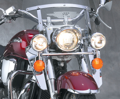 National cycle chrome light bar for honda zz71477 jp cycles national cycle chrome light bar for honda aloadofball Image collections